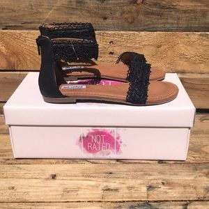 Not Rated Sandals Brand New